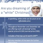 Clayton Dental Care tooth whitening offer.